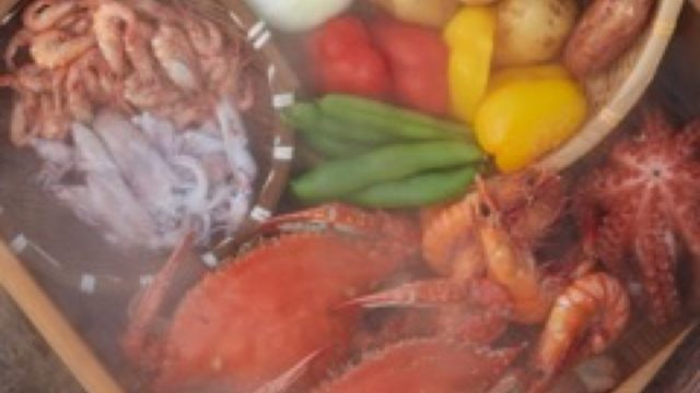 地元特産物と温泉をコラボした温泉蒸し料理の商品開発事業