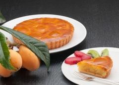 茂木びわの規格外素材(果実・種)及びその葉を用いたケーキ及びクッキー等の商品開発および販路開拓